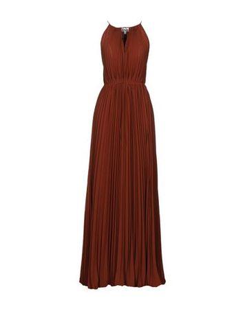 Elizabeth and James  38 Damen Mittelbraun Langes Kleid Polyester braun