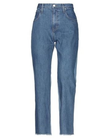 Elizabeth and James  Damen Blau Jeanshose Baumwolle, Elastan grau