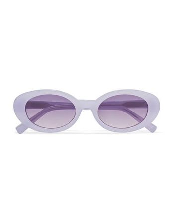 Elizabeth and James  -- Damen Lila Sonnenbrille Acetat lila