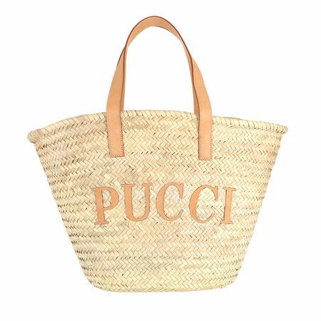 Emilio Pucci  Beuteltasche - Solid & Albizia Baby Bucket Bag - in multi - für Damen