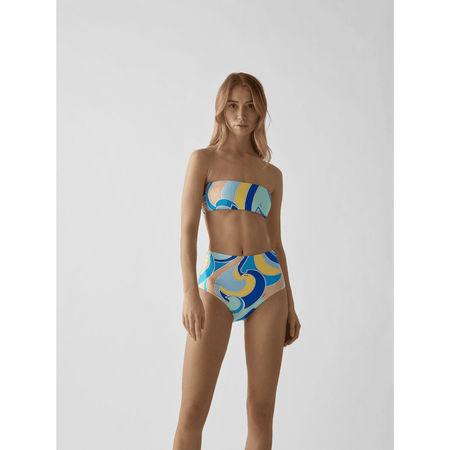 Emilio Pucci Bikini-Hose mit Allover-Muster