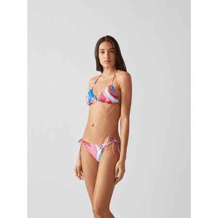 Emilio Pucci Bikini-Oberteil mit Schnürung