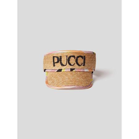 Emilio Pucci Cap mit Label-Schriftzug