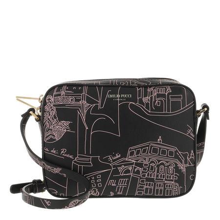 Emilio Pucci  Crossbody Bags - Mini Bag Scorci Fiorent - in black - für Damen grau