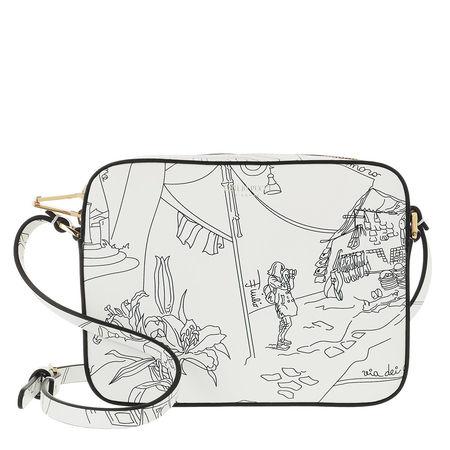 Emilio Pucci  Crossbody Bags - Mini Bag Scorci Fiorent - in white - für Damen grau