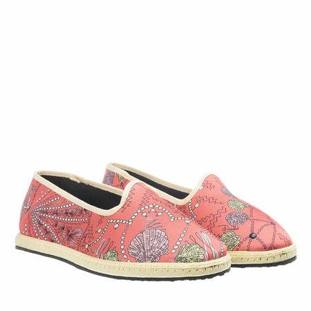 Emilio Pucci  Espadrilles - Ballerina Shoes Conchiglie Baby - in light red - für Damen