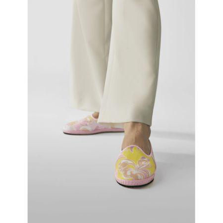 Emilio Pucci Slipper mit Allover-Muster