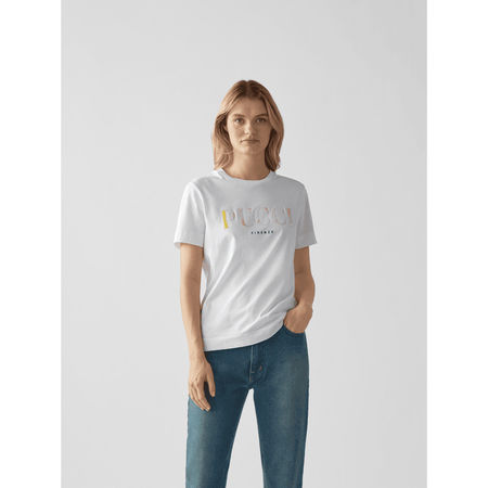 Emilio Pucci T-Shirt mit Label-Print