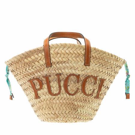 Emilio Pucci  Tote - Bucket Bag Solid - in beige - für Damen