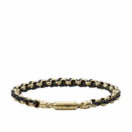 Emporio Armani  Armbänder - Men Antique Chain-Link Bracelet - in gold - für Damen