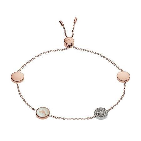 Emporio Armani  Armband - Bracelet Signature Storia EGS2308221 - in Quarz - für Damen