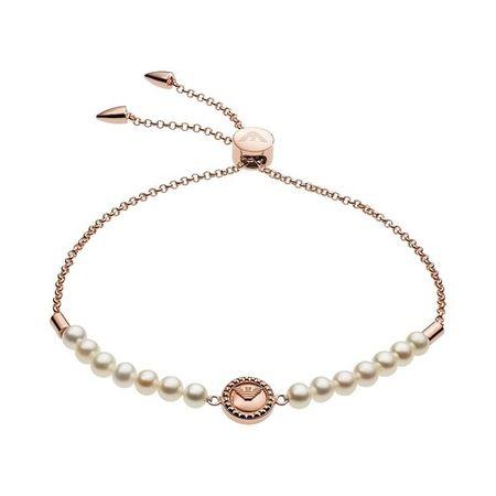 Emporio Armani  Armband - Essential Bracelet EG3434221 Sterling Silver - in gold - für Damen