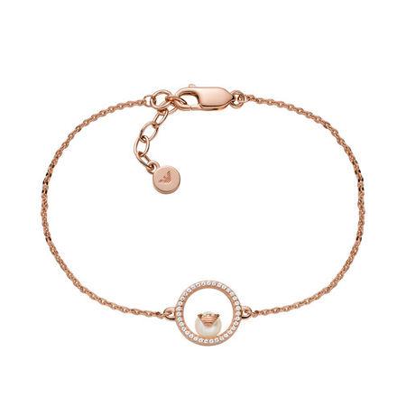 Emporio Armani  Armband - Sterling Silver Bracelet - in Quarz - für Damen