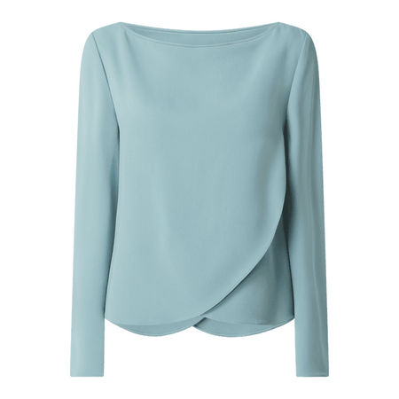 Emporio Armani Blusenshirt im Double-Layer-Look