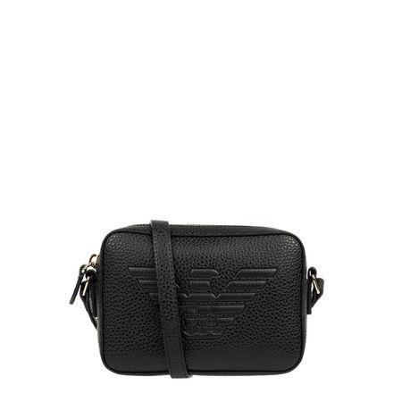 Emporio Armani Crossbody Bag in Leder-Optik