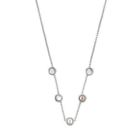 Emporio Armani  Halskette - Stainless Steel Necklace - in silver - für Damen