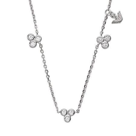 Emporio Armani  Halskette - Sterling Silver Necklace - in silver - für Damen