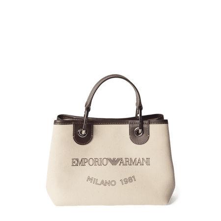 Emporio Armani Handtasche mit Label-Print