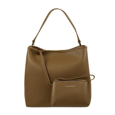 Emporio Armani Hobo Bag in Leder-Optik