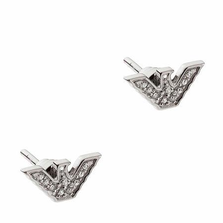 Emporio Armani  Ohrringe - EG3027040 Earring - in silver - für Damen
