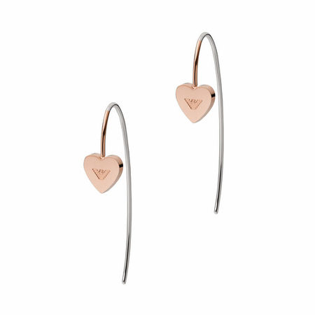 Emporio Armani  Ohrringe - Women's Stainless Steel Drop Earring EGS2826221 - in Quarz - für Damen