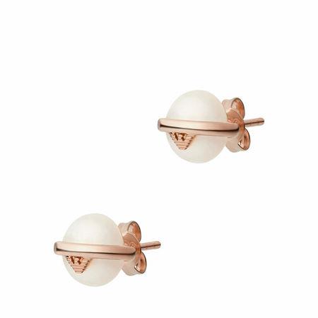 Emporio Armani  Ohrringe - Women's Sterling Silver Stud Earring EG3535221 - in Quarz - für Damen
