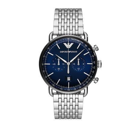 Emporio Armani  Uhr  -  AR11238 Men Dress Silver  - in silber  -  Uhr für Damen grau