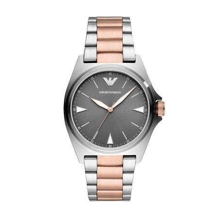 Emporio Armani  Uhr  -  AR11256 Men Dress Silver  - in silber  -  Uhr für Damen grau