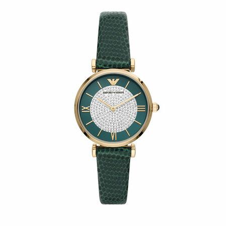 Emporio Armani  Uhr - Women's Two-Hand Stainless Steel Watch, AR11403 - in green - für Damen