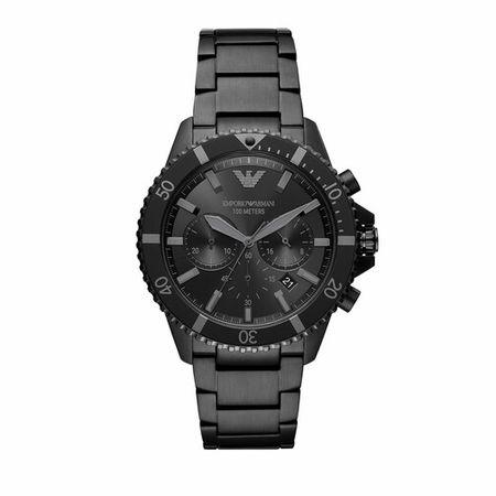 Emporio Armani  Uhren - Men's Chronograph Stainless Steel Watch AR11363 - in black - für Damen