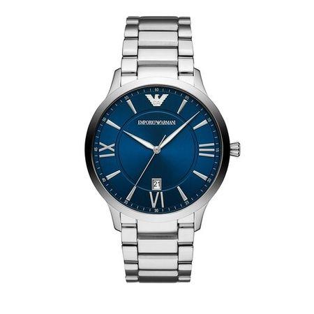 Emporio Armani  Uhren - Men's Three-Hand Stainless Steel Watch - in silver - für Damen