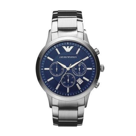 Emporio Armani  Uhren - Renato Dress Watch - in silver - für Damen
