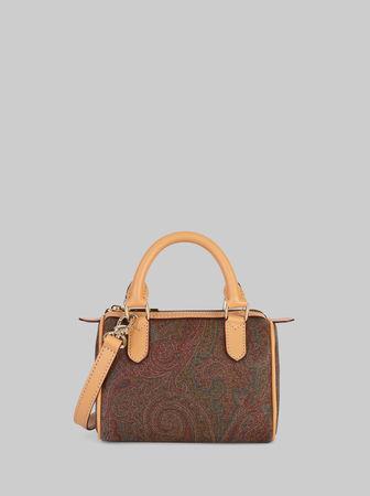 Etro Paisley Mini Bauletto-tasche, Damen, Rot braun