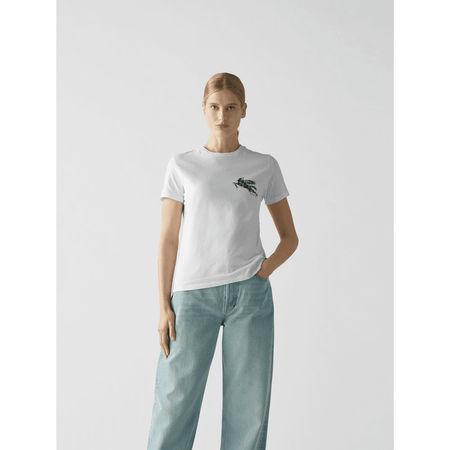 Etro T-Shirt mit Stitching