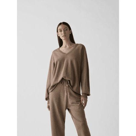 Extreme Cashmere Pullover mit V-Ausschnitt
