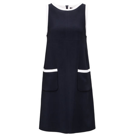 Fay  - Kleid blau schwarz