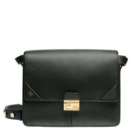 Fendi ® - Handtasche aus Leder in Schwarz für Damen, Größe UNI schwarz