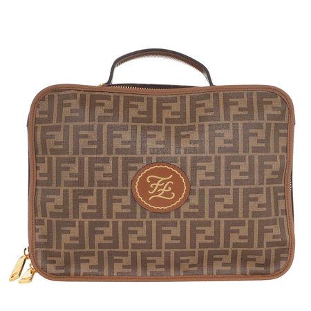 Fendi  Aktentaschen - FF Monogramme Travel Bag - in multi - für Damen braun