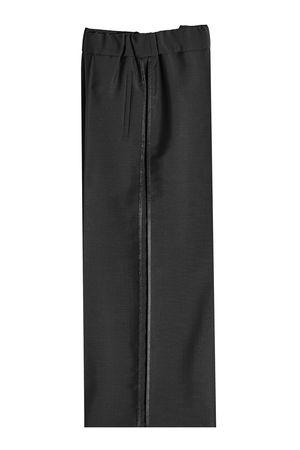 Fendi  Culottes aus Mohair und Wolle grau