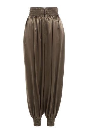 Fendi  Harem-Pants aus Seide braun