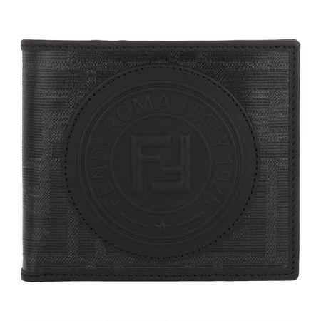 Fendi  Portemonnaie  -  Wallet Black  - in schwarz  -  Portemonnaie für Damen schwarz