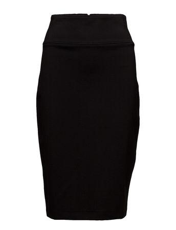 Filippa K High Waisted Pencil Skirt Knielanges Kleid Schwarz  schwarz
