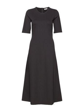 Filippa K Larissa Dress Maxikleid Partykleid Schwarz  grau
