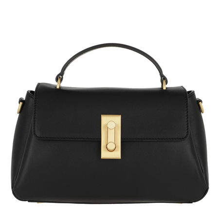 Flynn  Satchel Bag  -  Quinn Crossbody Bag Black  - in schwarz  -  Satchel Bag für Damen schwarz