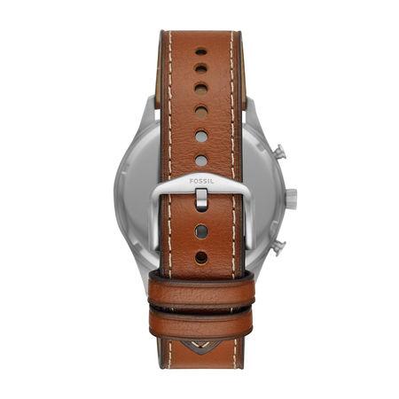 Fossil  Uhr  -  Men Forrester Chrono Watch Silver  - in braun  -  Uhr für Damen braun