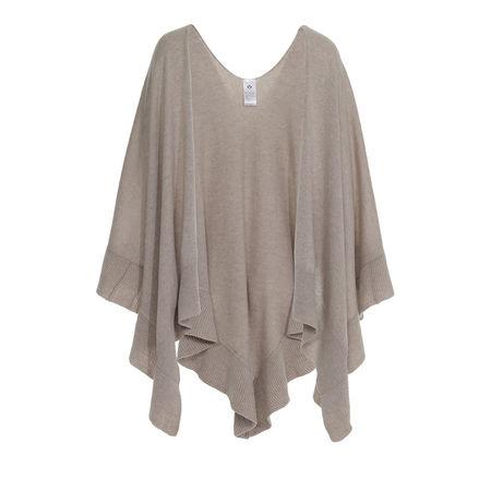 Fraas  Accessoire  -  Ruana Wool Taupe  - in beige  -  Accessoire für Damen braun