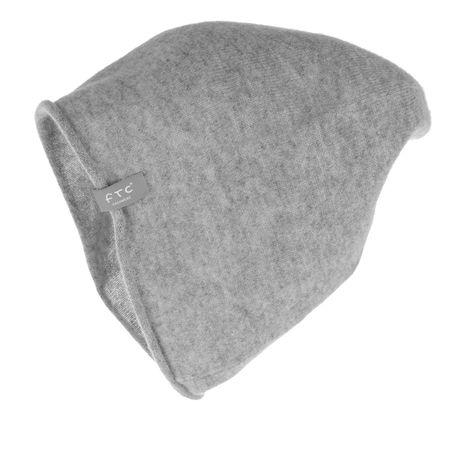 FTC Cashmere  Caps  -  Cashmere Hat Opal Grey  - in grau  -  Caps für Damen grau