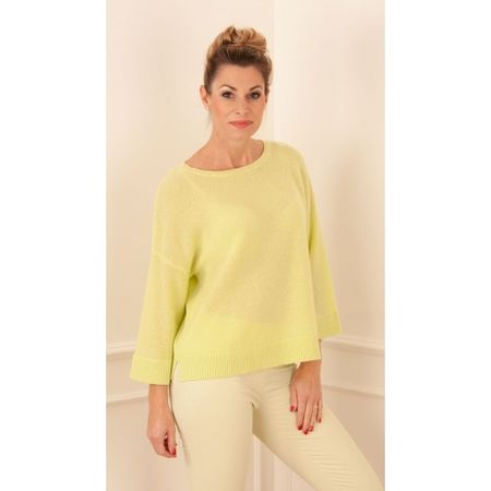 FTC Cashmere FTC Pullover Lime beige