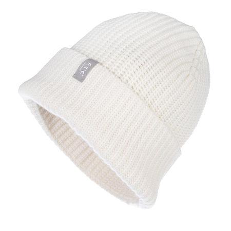 FTC Cashmere  Mützen - Cap - in weiß - für Damen grau