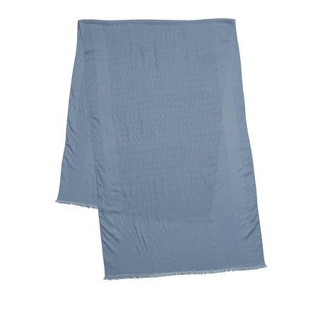 Furla  Accessoire  -  Net Scarf 70X200 Avio Light Grey  - in grau blau  -  Accessoire für Damen grau